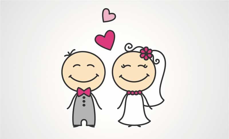 marriage ازدواج کردن